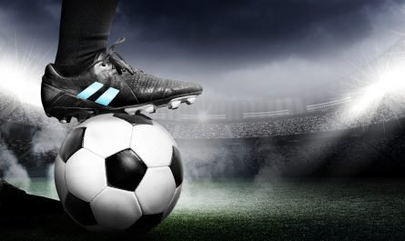 The Drawmaster - picture of a football and a players foot